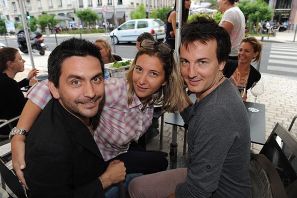12. Olivier, Audrey et Mika