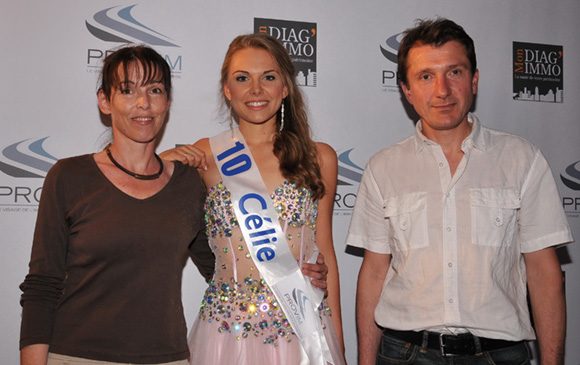 12. Célie Laporte et ses parents