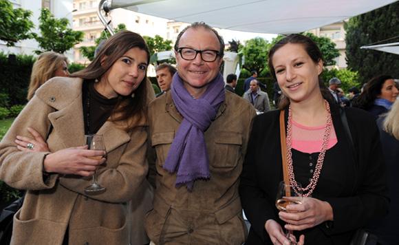 13. Charlotte Vurpas (Jours de Printemps), Jacques Chalvin (Double Mixte) et Anaïs Pelege (Jours de Printemps)