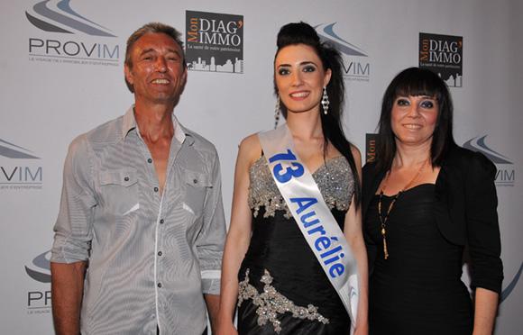 13. Aurélie Puddu et ses parents