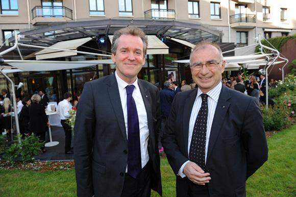 14. Luc Lafond, 1er adjoint à la mairie du 6ème et Yves Minssieux, consul de Belgique