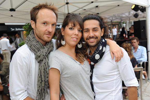 14. Guillaume, Marine et Franck