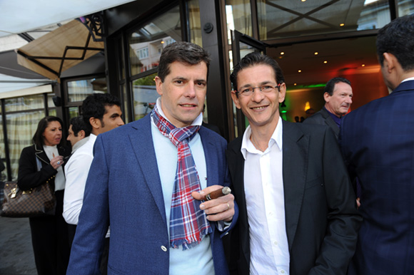 15. Lionel Clément (Habana Club de Lyon) et Fabrice Campoy (Dermscan)