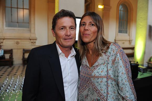14. Eric Emsellem, son épouse Patricia (Petit Creux) et Jacques Descours, vice-président CCI de Lyon