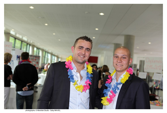16. Ludovic Narejos, promo MGE 2007 (Eventsn'sports) et Victor Giroud, promo MME 2007 (Michelin)
