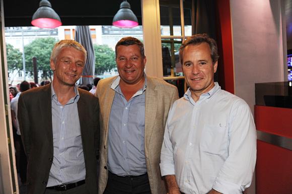 17. Hubert, Christophe et Gilles