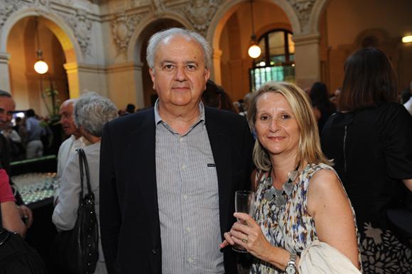 18. Daniel Grange (Société Daniel Grange) et son épouse Estelle
