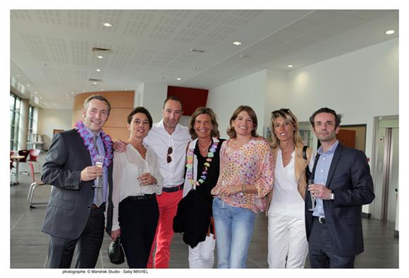 19. Christophe, Vinciane, Jean-Philippe, Caroline, Anne, Valérie et Nicolas, promo 90 première promotion