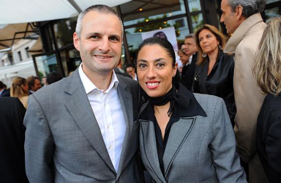 21. Lionel Badier (Brasseries Bocuse) et Marta Pardo-Badier (Château Perrache)