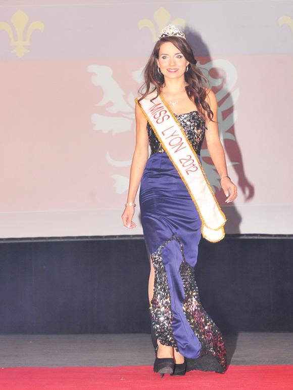 2. Aurélie Dugendre, Miss Lyon 2012