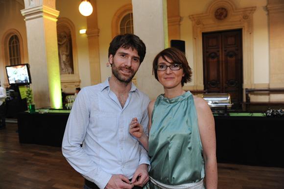 2. Olivier Boudier et son épouse Stéphanie Lapendry-Boudier (Agence Hervé Boudier Moreau)