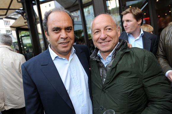 22. Aziz Lamrani et l'horloger Jean-Louis Maier