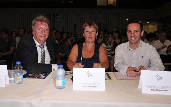 22. Les membres du jury : Michel Lopez, Corinne Rey et Fabrice Moya