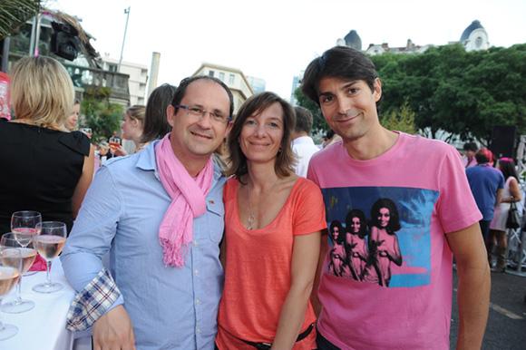 22. Frédéric, Chrystel et Philippe