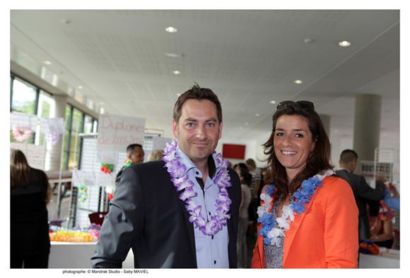 2. Stéphane Agostinie, promo 99 (Grand Compte Office Dépôt) et Hélène Hugues, promo 2002 (SLR Environnement)