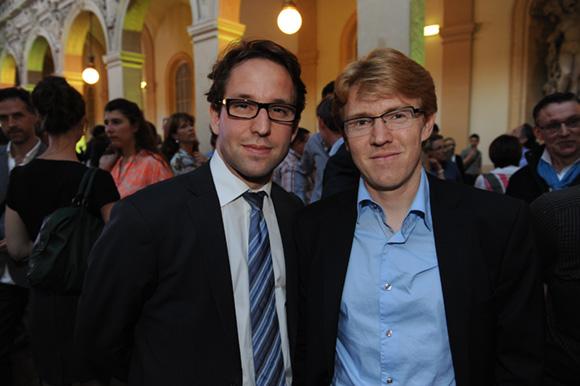 25. Jonathan Bel (Axotel) et Franck Boucaud-Maitre (Chocolats Voisins)
