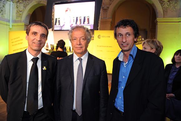 27. Marc Degrange, Philippe Grillot et Jacques Descours, élus de la CCI de Lyon