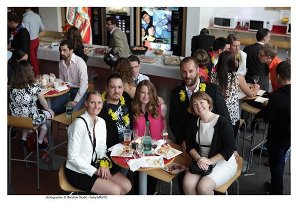 28. Mathilde, Pierre-Yves, Cyrielle, Jean-Laurent et Elodie
