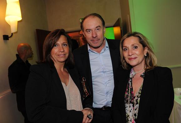 30. Sandrine Michel-Chambon (Show Room Déco), Yves Rioton (Séminaires Business) et Clotilde Dupont (Magazine l'Arca international)