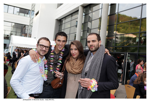 32. Gaylord Petrillo (Lillybelle), Maximin Bejuy (Allianz), Alexandra Bertrand et Paul Cayot (Teleconsultfrance), promo M2 2012