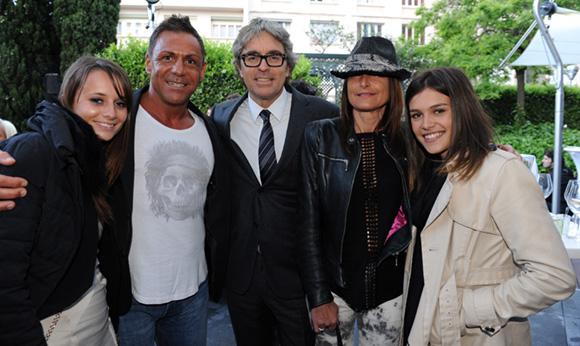 33. Margaux Raquin (Sera), Sergio (CMC), Jean-Pierre Challier (Groupe Universat), Véronica et Julie Chapuis (Pal Zileri)