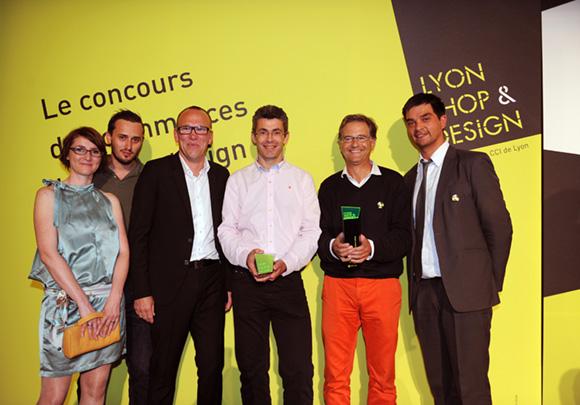 33. Stéphanie Lapendry-Boudier (Agence Hervé Boudier Moreau), Erik Berchet-Moguet (Zebrand), Hervé Moreau (Design & Architecture) et Philippe Gauvreau (Halles 9)