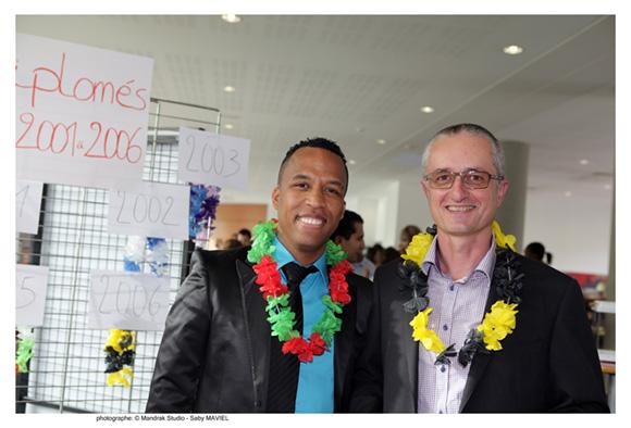 3. Johan Belina, promo MGE 2001 (Mars) et Philippe Liberge, promo 2006