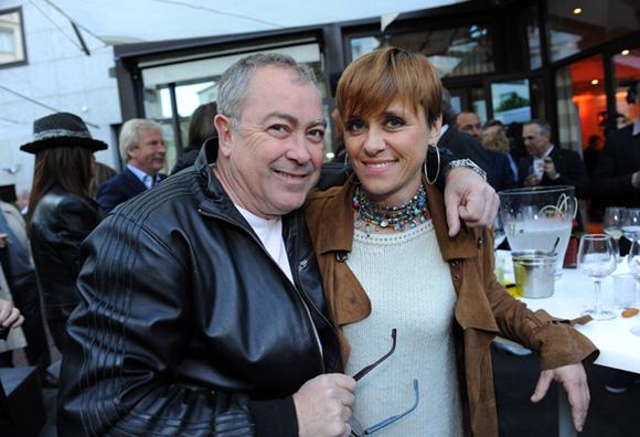 34. Antoine Cabrera (Maddalena) et Annie Alis (Rocade Café)