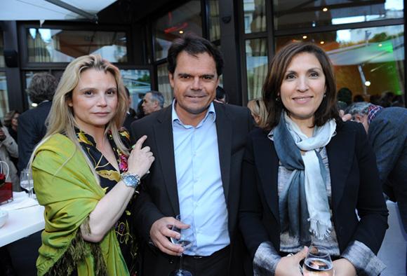 36. Sabine Poncet-Montange (Alteventis), Christophe Georges (Roval) et Nora Berra