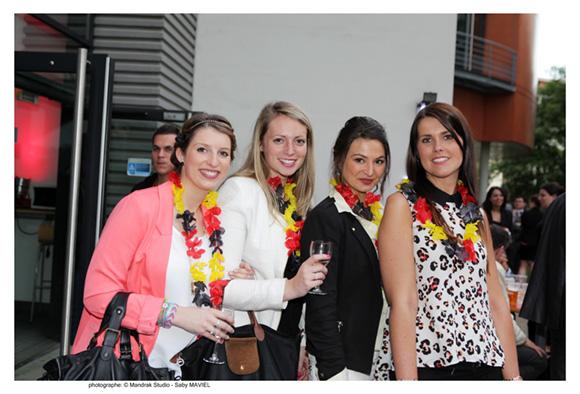 37. Marion Nattier, (Mango), Anne-Catherine Melnotte (Firemnich), Pauline Sanial (LBD) et Elodie Bessonnard (Derhy) MGE 2011