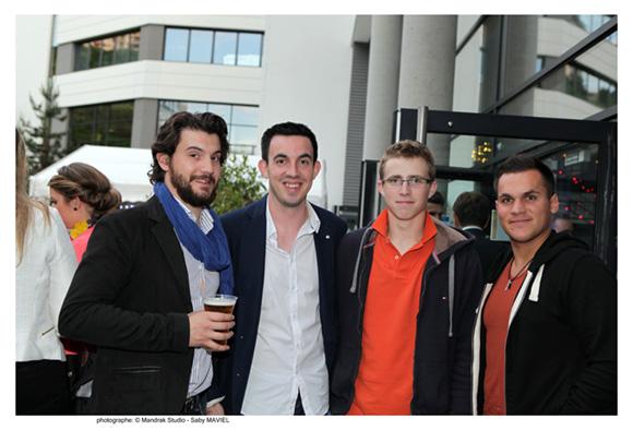 38. Vivien Blusset (Monky Club), Pierre Accaries (Alinéa Europe), Paul Nattier (EARL Nattier Delorme), promo 2011 et Wesley Moine (Corderie Vincent)