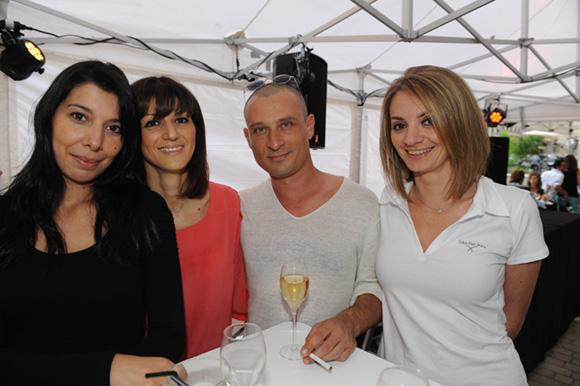 3. Sonia, Marjolaine, Christophe et Laurence
