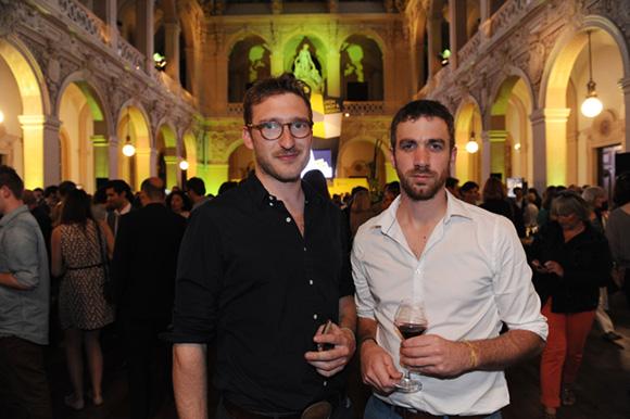 40. Adrian Blanc et Philippe Bajard