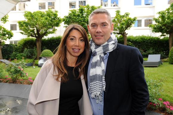 4. Audrey Reynaud (Max Mara) et son époux Olivier (XPE)