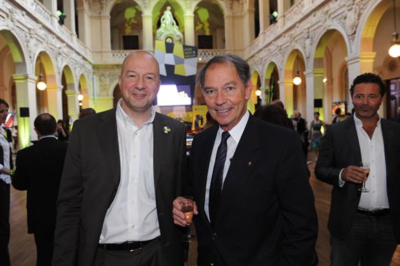 4. Michel Auclair (CCI de Lyon) et Jean-Pierre Calvel, vice-président du Grand Lyon