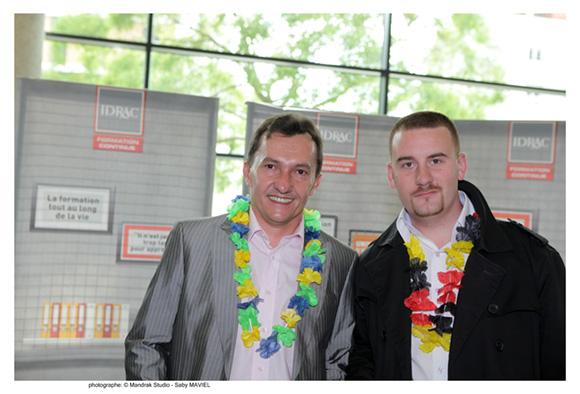 4. Thierry Goncalves, promo MME 2004 (Knuchel) et Adrien Bergougnoux, promo MGE 2011