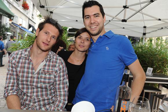 4. Arnaud, Mélanie et Pico