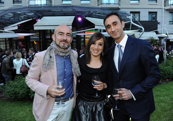 45. Mirko de Lucia (Dorelan), Viviana Calabrese (Corradi) et Ali Afshar (Warwick Reine Astrid)