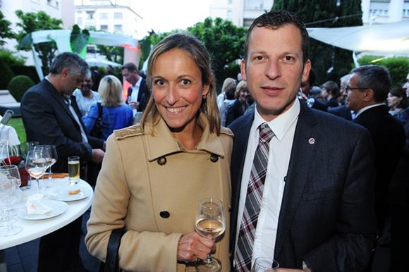 46. Sophie Renard (Agence Eliott & Markus) et Thierry Vitoz (Université Lyon III)