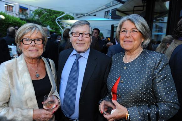 47. Françoise et Jean-Jacques David, maire du 6ème  et Annick Jeannerod