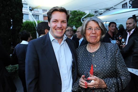 48. Alexandre Jeannerod (Euro Sono) et sa maman Annick