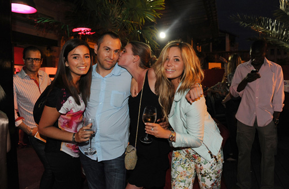 48. Marine, Fabrice, Pauline et Charlotte