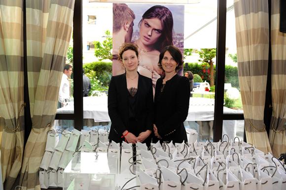 5. Elodie Testou et Caroline Boyer (Dinh Van Paris)