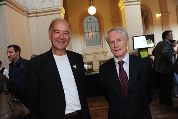 5. Jean Parynzewski (CTTN) et François Royer, adjoint au maire du 2ème