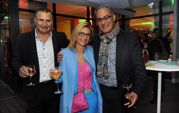52. Simon Hoayek (Byblos Lyon), Maitre Marie-Alice Godot-Sorine (Mags Avocats) et Ahmad Fazeli (Vignes & Vins)