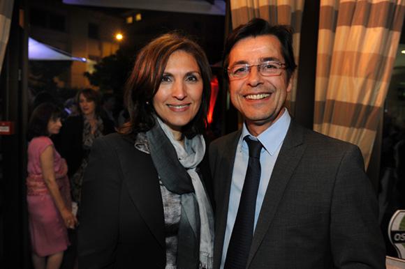 55. Nora Berra et Emmanuel Hamelin