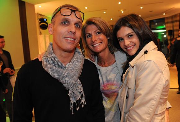 61. Olivier Chapuis, son épouse Caroline et leur fille Julie (Pal Zileri)