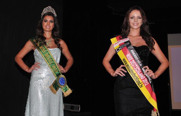 6. Miss Brésil 2012 et Miss Allemagne
