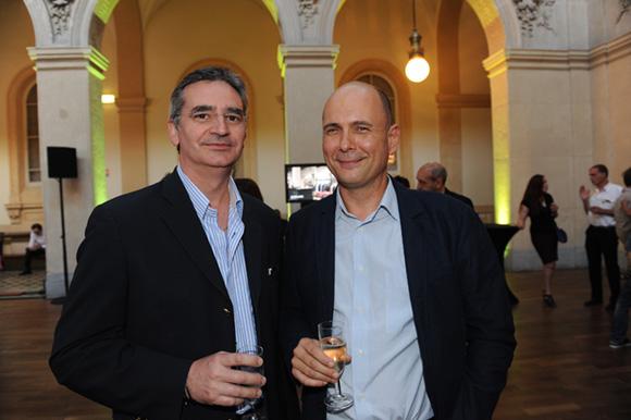 6. Jean-Michel Woulkoff (DWA architecte) et Victor-John Vial-Voiron, président du Conseil régional de l'Ordre des architectes Rhône-Alpes