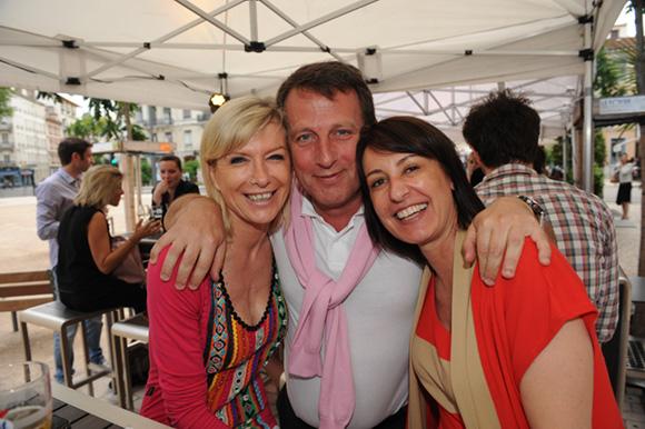 6. Chris, François et Babeth
